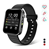 Bingofit 1.54' Full Touch Screen Smart Watch, Waterproof Activity Tracker Sport Watch with Heart Rate Blood Pressure Monitor, Step Calorie Sleep Tracker Fitness Watch Men Women for Android & iOS Phone