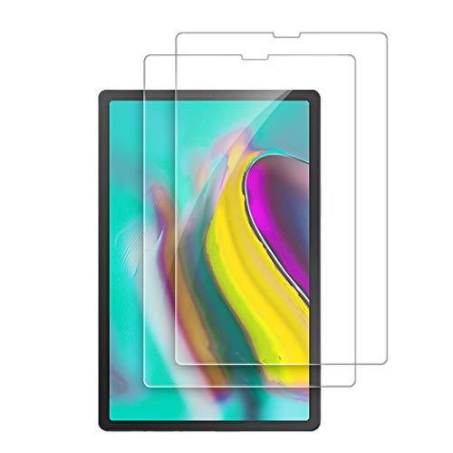 Olycism Compatible para Samsung Galaxy Tab S5e Protector de Pantalla (2-Pack) Ajuste Alta Definición 9H Dureza Anti-arañazo No Hay Burbujas Ultra Resistente Vidrio Cristal Templado