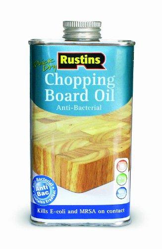 Rustins - Olio per taglieri asciuga rapido 250 ml