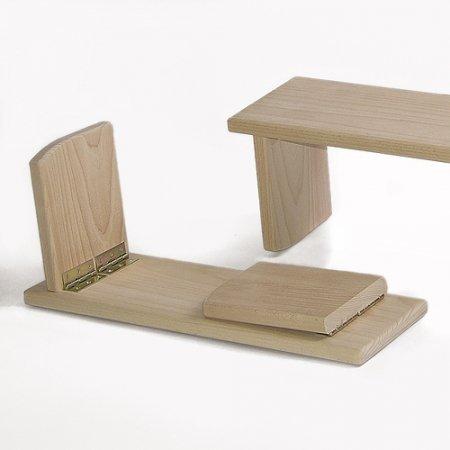 Meditationsbank Comfort Travel - klappbar, 21 cm hoch by Comfort-Travel