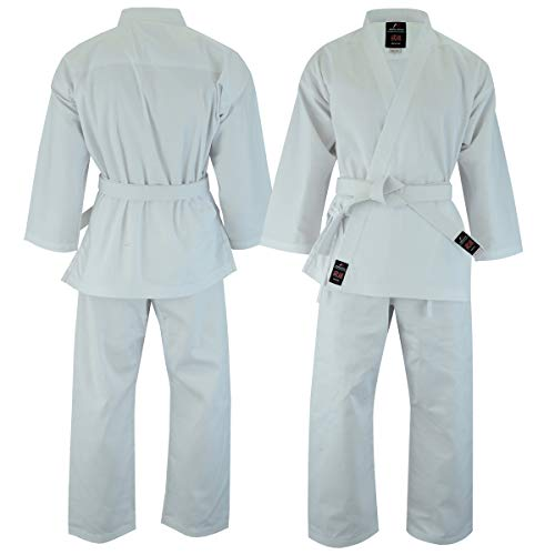 Malino Kimono de karaté pour adulte 198,4 g avec ceinture en