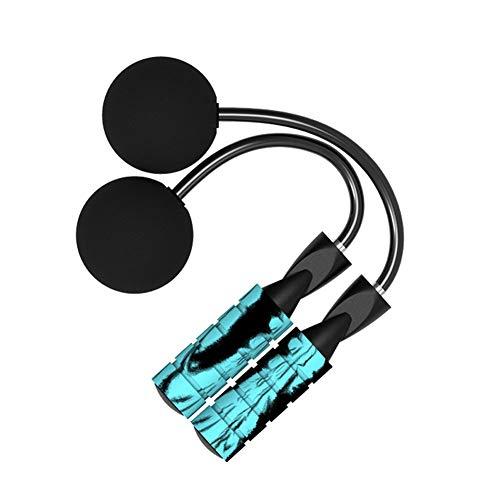 Corde à sauter sans fil avec corde à sauter réglable pour la vitesse de l'entraînement, la perte de poids et l'entraînement général, idéal pour les adultes et les débutants., N° 0, Ts-4-g5, Free Size