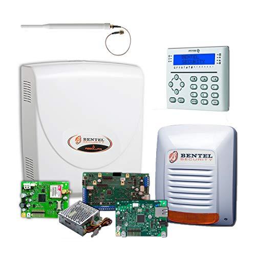 Bentel Security - Kit de Alarma para el hogar Profesional Bentel Absoluta Plus ABS48 Zone + Tarjeta IP - KITABS48-IP