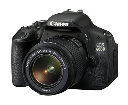 Canon EOS 600D + EF-S 18-55mm f/3.5-5.6 DC III (Ricondizionato) )