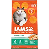 IAMS PROACTIVE HEALTH Adult Hairball Care Protein-Rich Hairball Control Dry Cat...