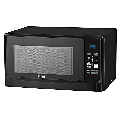 Commercial CHEF CHM14110B6C Microwaves, BLACK