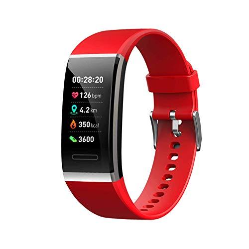 Gymqian Color de la Manera Elegante de la Pantalla de la Banda, Ritmo Cardíaco Y la Presión Arterial Monitoreo Reloj Pulsera Inteligente Actividad Bluetooth, una Variedad de Marcado