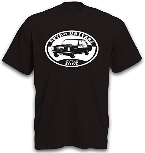 T-Shirt Strich 8 acht /8 W 114 / W 115 Youngtimer Oldtimer Auto Strich8 b&c Gr. XXL