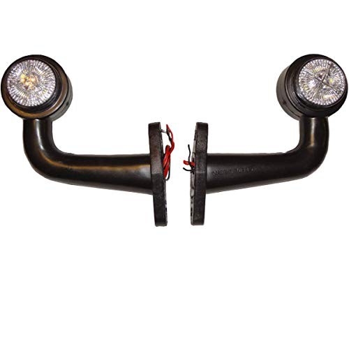 2x LED Begrenzungsleuchten 12V 24V Volt Positionsleuchten Seitenleuchten Seitenmarkierung LKW PKW Anhänger