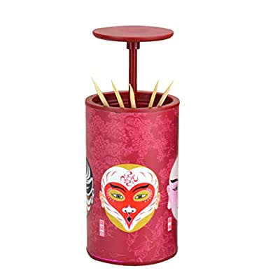 Creative Toothpick Box, Automatic Pressing Toot...