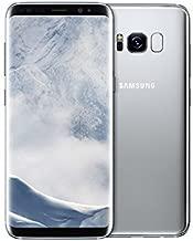 Samsung Galaxy S8 64GB G950U AT&T Unlocked - Arctic Silver (Renewed)