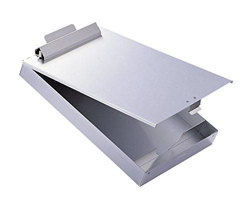 Durable 339223 Klemmbrett A4 Box, 1 Stück silber