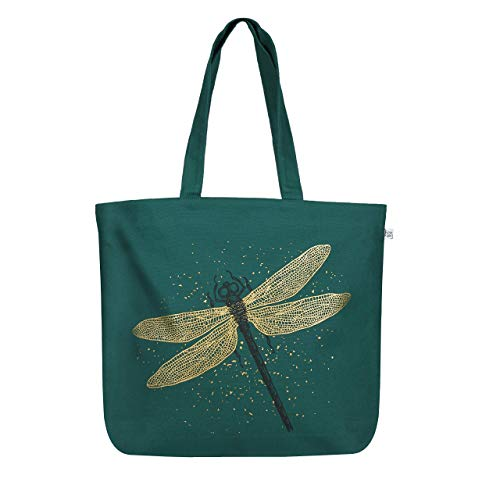 EcoRight Canvas Tote Bags for Women, Eco Friendly Reusable Shopping Bag,...