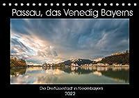 Passau, das Venedig Bayerns (Tischkalender 2022 DIN A5 quer): Impressionen aus dem bayerischen Venedig (Monatskalender, 14 Seiten )