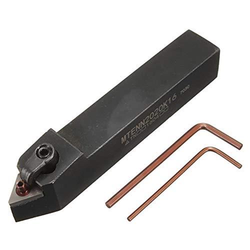 Herramienta de soporte de cnctel de tungsteno duradero MENN2020K16 CNC con llave tipo L