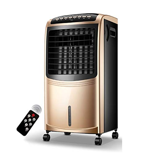 XPfj Freeze Fan Plus Water Air Cooler Airconditioner Warm Freddo zonder slang 4 in 1 3 snelheden luchtbevochtiger Splendid luchtkoeler Gold