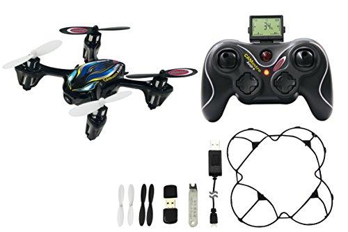 Jamara 422017 - Camostro HD Drone kompas Flyback Turbo 2,4G - HD camera (720p), tot 40 km/h, elektronisch kompas / flyback functie, 3 vluchtmodi, 4 krachtige en krachtige rotoren, leds