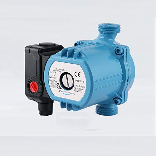 QWERTOUY 3-Gang 120W Zentralheizung Zirkulator Mute Boiler Warmwasserumwälzpumpe Gusseisen F-Klasse Isolierung IP42 Schutz 220V