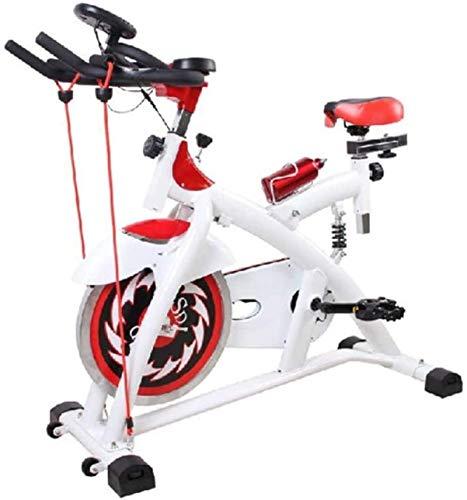 Bicicleta Estática Cinturón Silencioso Cinturón Volante Impulsado Magnético Asiento Ajustable De Resistencia Pantallas LCD mwsoz