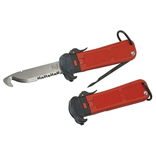 Glas-Master Feuerwehrmesser RT I, Rettungsmesser, Einhandmesser, Glasmaster