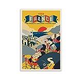 SDFGSD Sport Vintage Poster Tour de France 1970 Poster