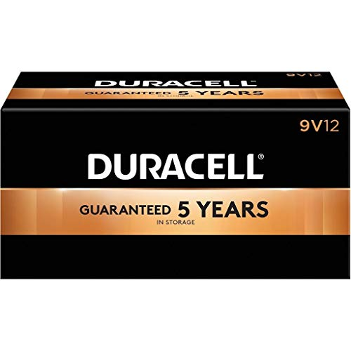 Duracell 16040 - PC1604 9V Procell Battery (12 pack) (PC1604 9V PROCELL 12-Pack)