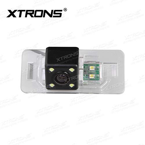 XTRONS 160° HD Rückfahrkamera Einparkshilfe wasserdicht mit Nachtsicht LED speziell für BMW 3/5 Serie / X5 / X6