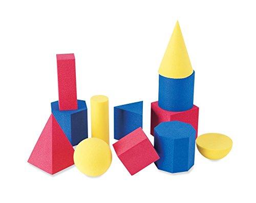 Learning Resources Soft Foam Geometric Shapes (Set of 12)
