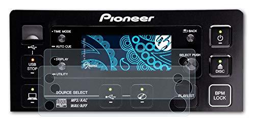 Bruni Película Protectora Compatible con Pioneer CDJ-350 Protector...
