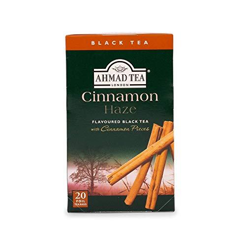Ahmad Tea Cinnamon Haze Black Tea, 20-Count Boxes (Pack of 6)