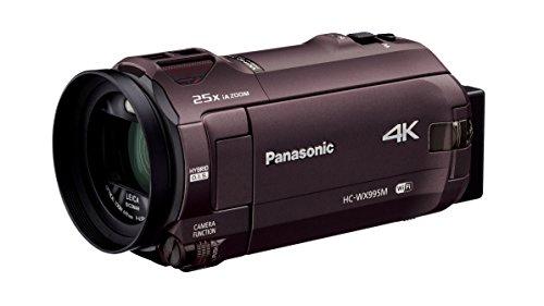 パナソニック 4K ビデオカメラ WX995M 64GB ワイプ撮り あとから補正 ブラウン HC-WX995M-T