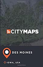 City Maps Des Moines Iowa, USA [Idioma Inglés]