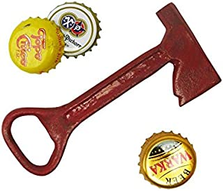 Design Toscano Fireman Ax Cast Iron Bottle Opener