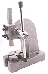 Heavy duty frame 4 position steel anvil Precision made Steel pinions Base measures 9-inches length by 4-inches width