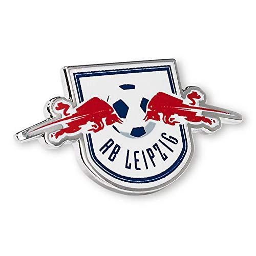 RB Leipzig Logo Pin, Mehrfarben Unisex One Size Anstecknadel, RasenBallsport Leipzig Sponsored by Red Bull Original Bekleidung & Merchandise