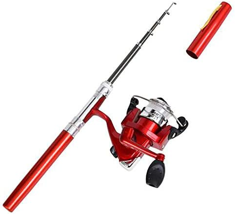 Cheap mail order specialty Ranking TOP20 store FFEM Pen Fishing Pole 38 Inch Mini and Reel Pocket Rod