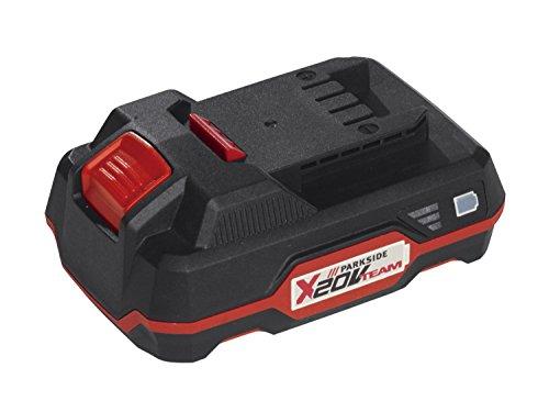 2 Stück 2Ah PARKSIDE Zusatzbatterie für pap 20v a1 Familie