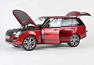 2017 Range Rover SV Autobiography Dynamic Metallic Red 1/18 Diecast Model Car by LCD Models LCD 18001 R