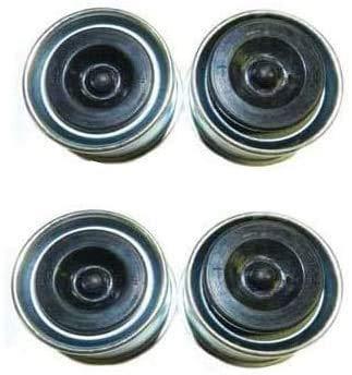 zh yan Parts Shop 1.98  Relube Grease Dust Cap for 2,000-.3,500lb Trailer Wheel Hubs DC200L-DCRP (4 Pack)