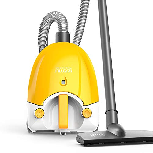 Review Giow Household Mini Horizontal Vacuum Cleaner, Handheld High Suction One-Button Take-Up High-...