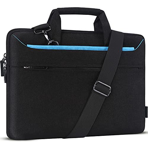 DOMISO 14 Zoll Wasserdicht Laptop Tasche Aktentasche Schultertasche Notebooktasche für 14