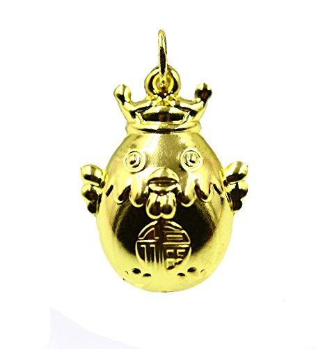Axiba Euro Gold und Silber Krone Hahn Anhänger Nachahmung 24K vergoldet Mode Hahn Halskette Huhn Anhänger Das schönste Geschenk