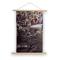 80X50CM-世界のすべてのお金(3)映画ポスターキャンバス掛ける絵 吊り絵 巻物 軸物 壁畫 装飾画 インテリア 壁掛け 壁飾り ソファの背景絵画 玄関 リビングと寝室部屋飾り
