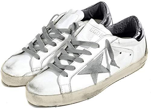 Golden Goose Zapatillas deportivas para hombre GGDB de piel, informales, de caña baja, deslizable
