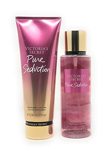 Set Victoria's Secret Pure Seduction Body Mist 250 ML + Crema 236 ML