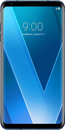 LG V30 Smartphone (15,24 cm (6 Zoll) Display, 64 GB Speicher, Android 7.1) Moroccan Blue