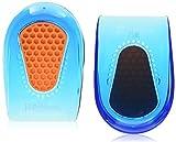 Spenco Gel Heel Cup Shoe Inserts for Pain Relief from Heel Spurs or Bruising, Medium/Large
