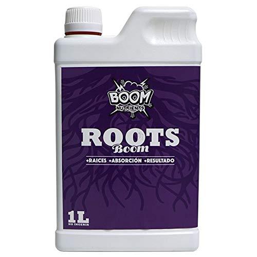 Boom Nutrients | Fertilizante y Estimulador para Raíces Marihuana Enraizante Potente | Roots Boom (1L)