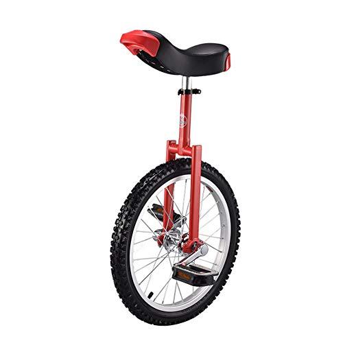 """GFYWZ 18\""""bis 24\"""" Mountainbike Radrahmen Einrad Fahrrad mit bequemem Release-Sattelsitz,Rot,20 Inch"""