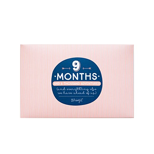 Mr. Wonderful Álbum con mensaje '9 months and a thousand adventures'
